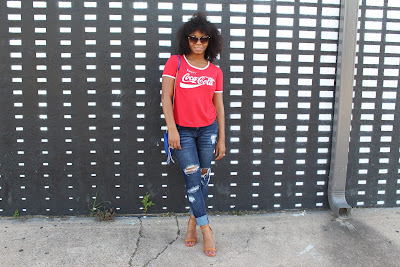 StyleGuruZak How to style a Coca-Cola T-shirt with jeans