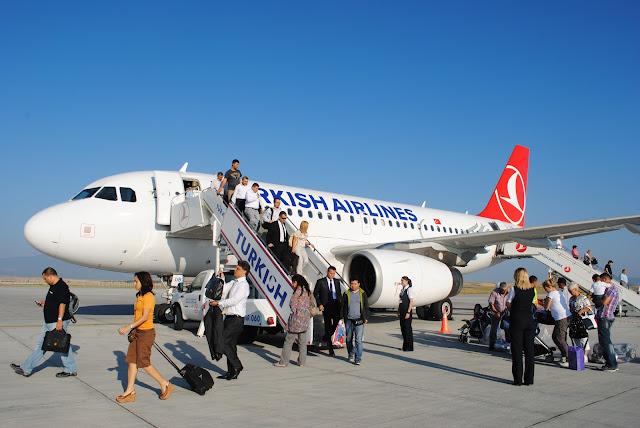 【航空体验】土耳其航空Turkish Airlines 初体验| 土耳其Istanbul飞往棉花堡 Denizli