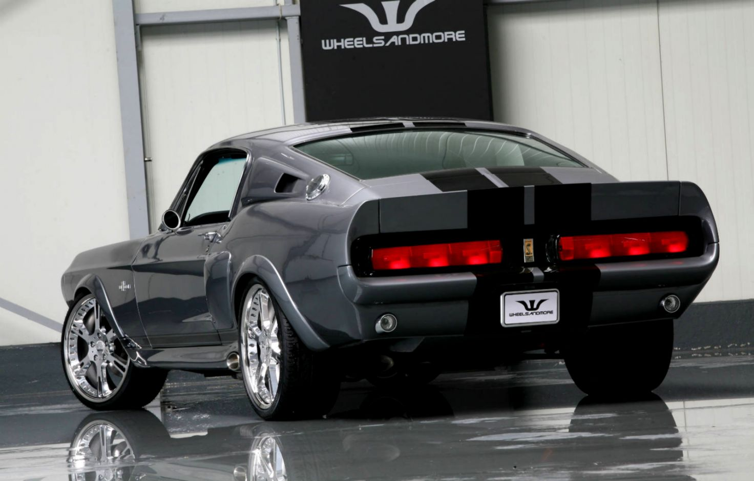The eleanor mustangs was supporting aâ 1967 mustang fastback