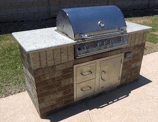 Custom Outdoor Kitchen DFW 4