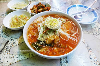 Kuliner Kimchi Mari-guksu