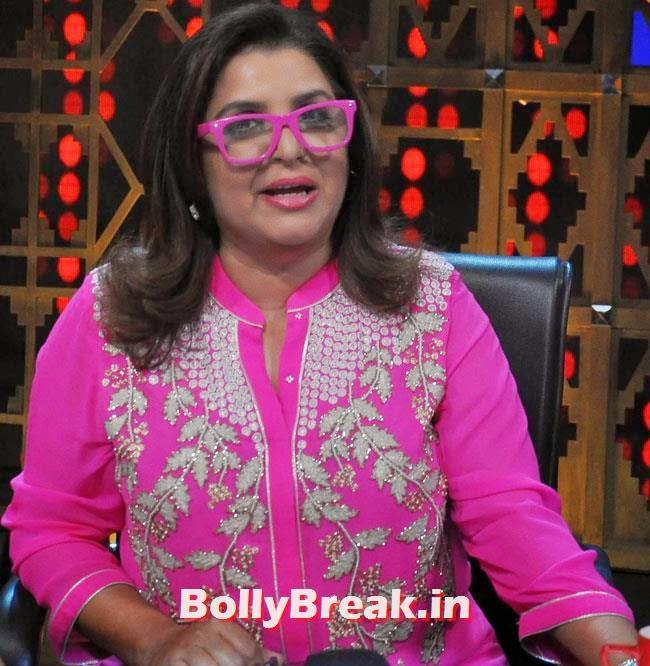 Farah Khan, Vidya Balan & Dia Mirza in Punjabi Suits Promote Bobby Jasoos on Entertainment Ke Liye Kuch Bhi Karega