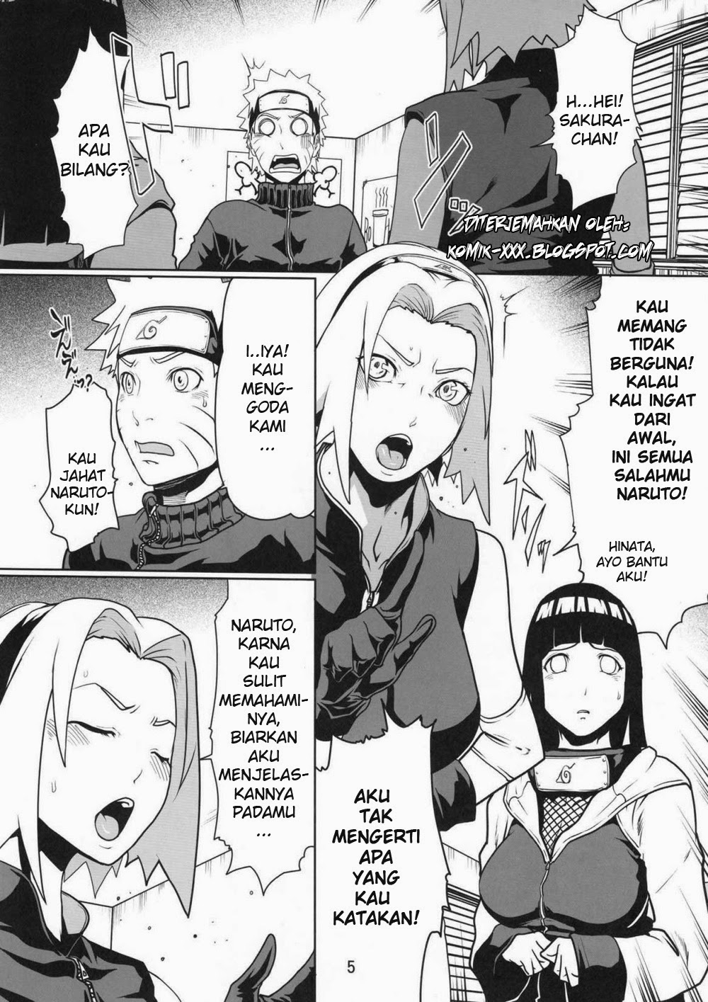Those on! Naruto komik hentai hinata pity
