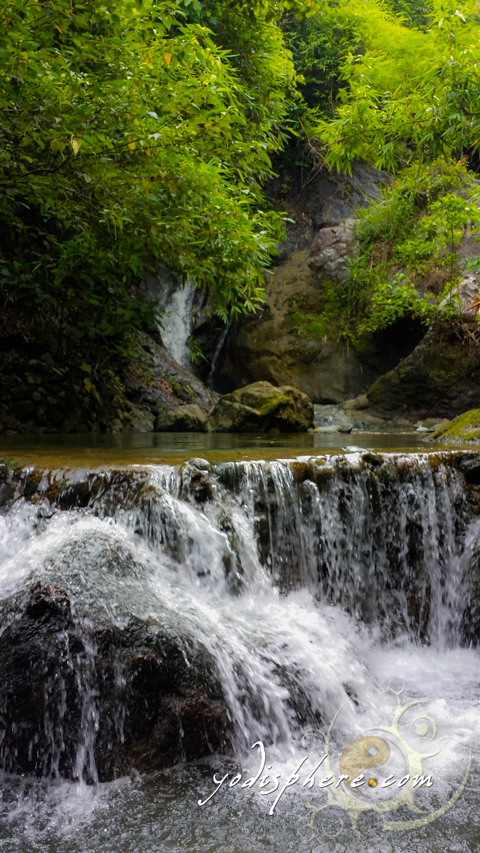 First waterfall out of seven waterfalls of Payaran Falls
