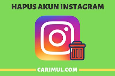 Cara Hapus Permanen Akun Instagram Yang Lupa Password