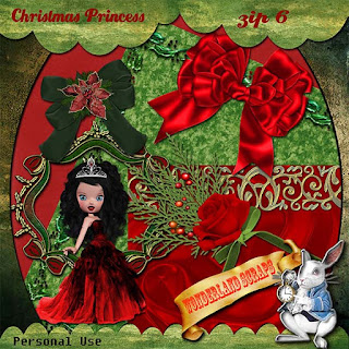 Last day of Christmas Princess freebie