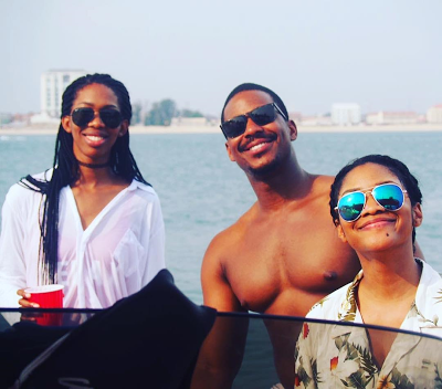 Photos: Former Governor, Donald Duke's Daughters Enjoy Time At The Beach