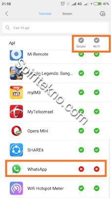 Cara Baru Nonaktifkan Whatsapp / WA Sementara tanpa mematikan data internet