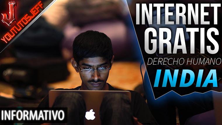 Internet gratis en India | Considerado derecho humano