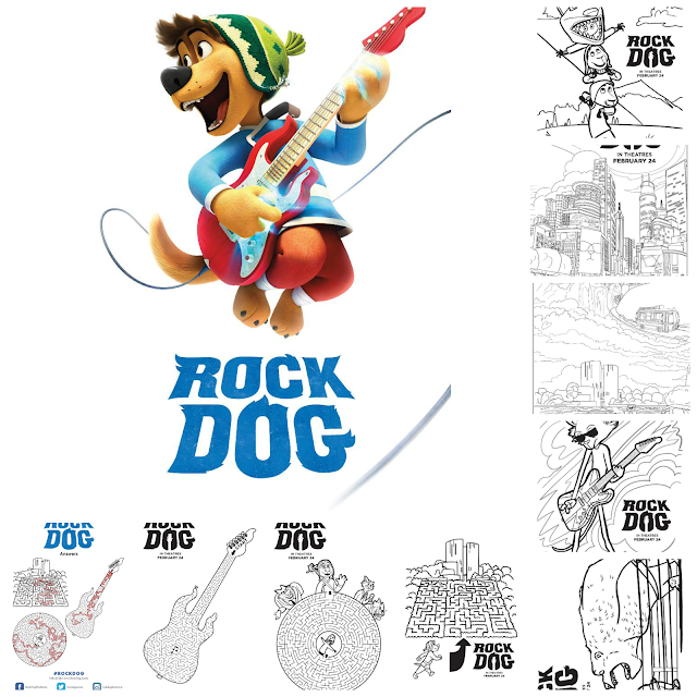 RockDog Activity Sheets