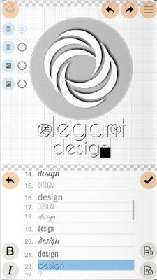 aplikasi android untuk mendesain logo Logo Maker Plus gratis