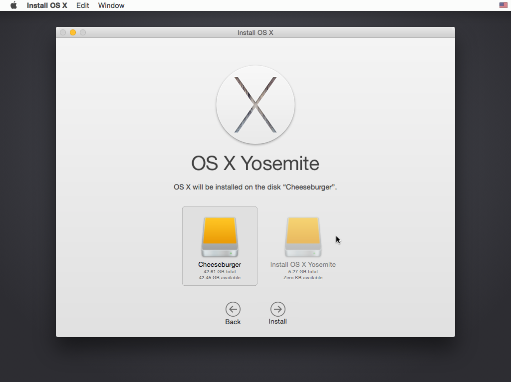 Mac os x Yosemite unibeast 10 10 build 14a389