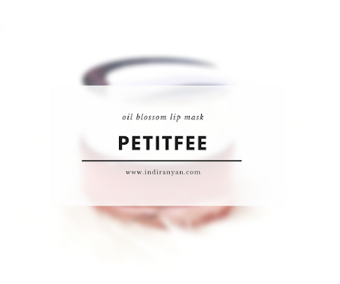 [REVIEW] Petitfee Oil Blossom Lip Mask*