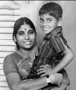 Akkineni Nagarjuna rare childhood young age and family