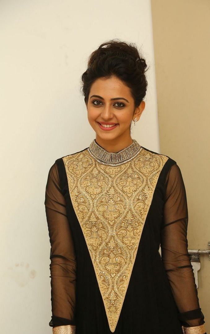 Rakul Preet Singh Fashion Gallery In Black Dress