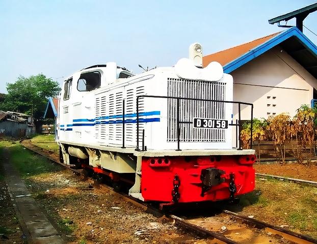 lokomotif kereta api indonesia