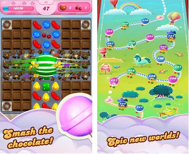 Candy Crush Saga Apk Mod Everything Free for android