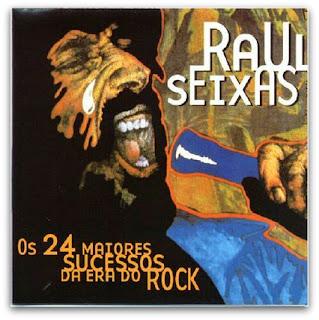 """Capa do disco """"Os 24 Maiores Sucessos da Era do Rock"""""""