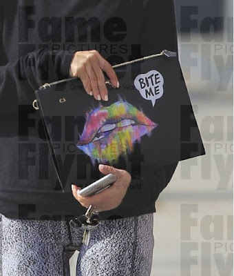 Cara Santana Bite Me Clutch Bag
