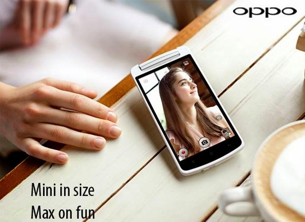 Oppo N1 Mini Resmi Diperkenalkan Dengan Layar 5 Inci HD