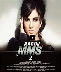 Sunny Leone in official poster of Bollywood movie Ragini MMS 2