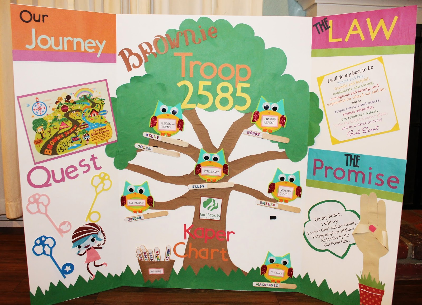 Creatively Quirky At Home Daisy To Brownie Girl Scout