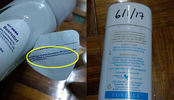 Buang deodorant yang mengandungi Aluminium Chlorhydrate, ia penyebab kanser payudara