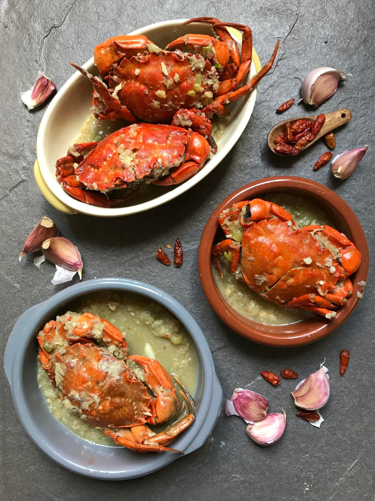 Cangrejos Salteados Al Ajillo Cocinas Del Mundo