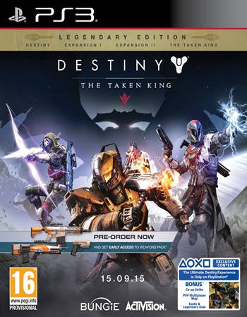 The Taken King Legendary Edition PS3 Español