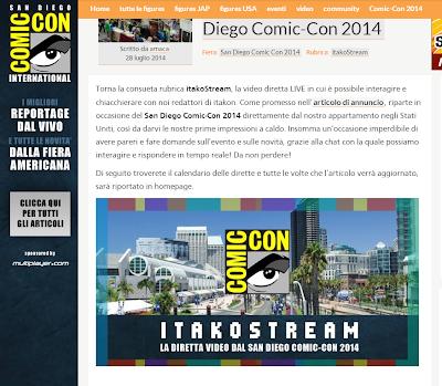 Itakon e il suo strem dal San Diego Comic Con