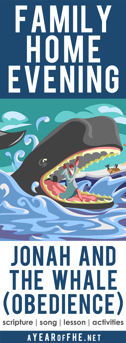 A Year Of FHE Year 02 Lesson 20 Jonah And The Whale
