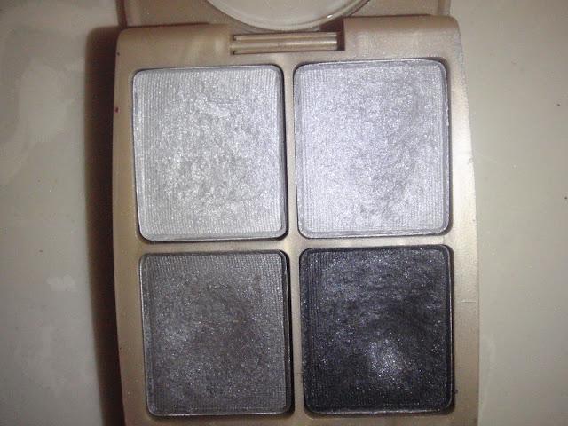 smoky gray eye shadow