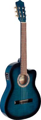 Đàn Guitar Classic Stagg C546TCEBLS