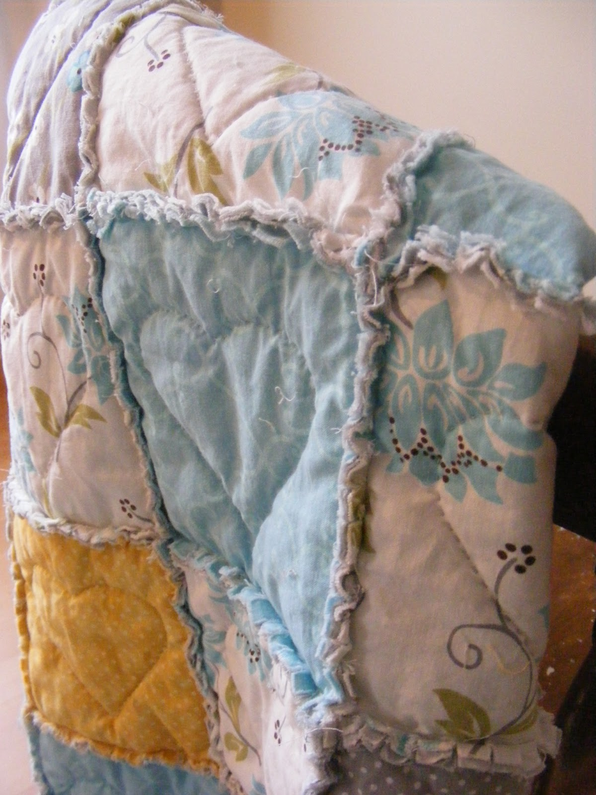 A Heart Stitched Baby Rag Quilt Tutorial The Complete