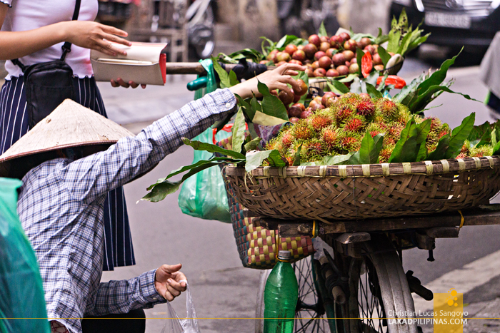Hanoi Food Trip Fruit Vendor