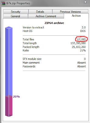 67k files to reverse