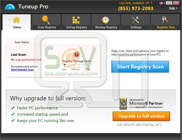 Tuneup Pro (Falso optimizador)