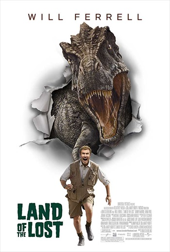 Land Of The Lost 2009 Dual Audio Hindi Movie Download