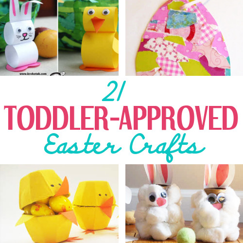 21 Toddler Approved Easter Crafts Diy Home Sweet Home