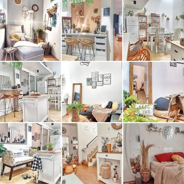 Inspirasi Rumah Minimalis Serba Rotan dari Rumah Aila