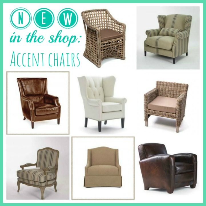 New in the shop accent chairs