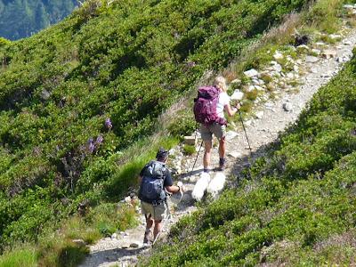 Tour du Mont Blanc chiens dogs 犬 ツール・ド・モンブラン