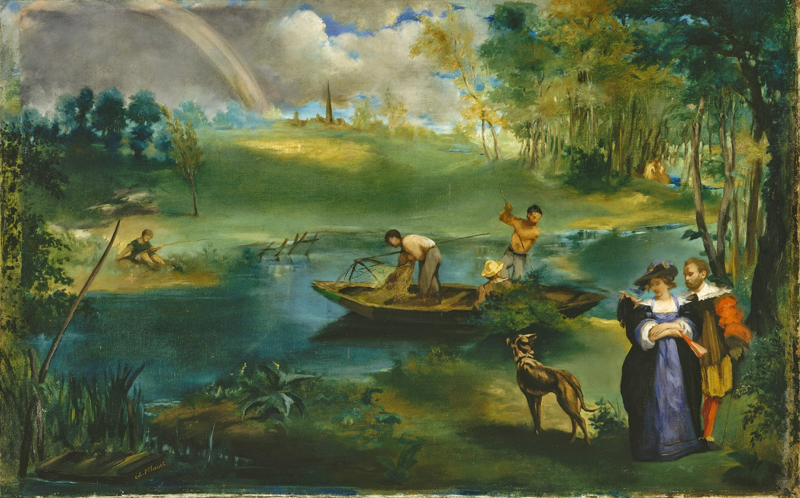 Édouard Manet, La pesca (1862-1863), Metropolitan Museum, Nueva York