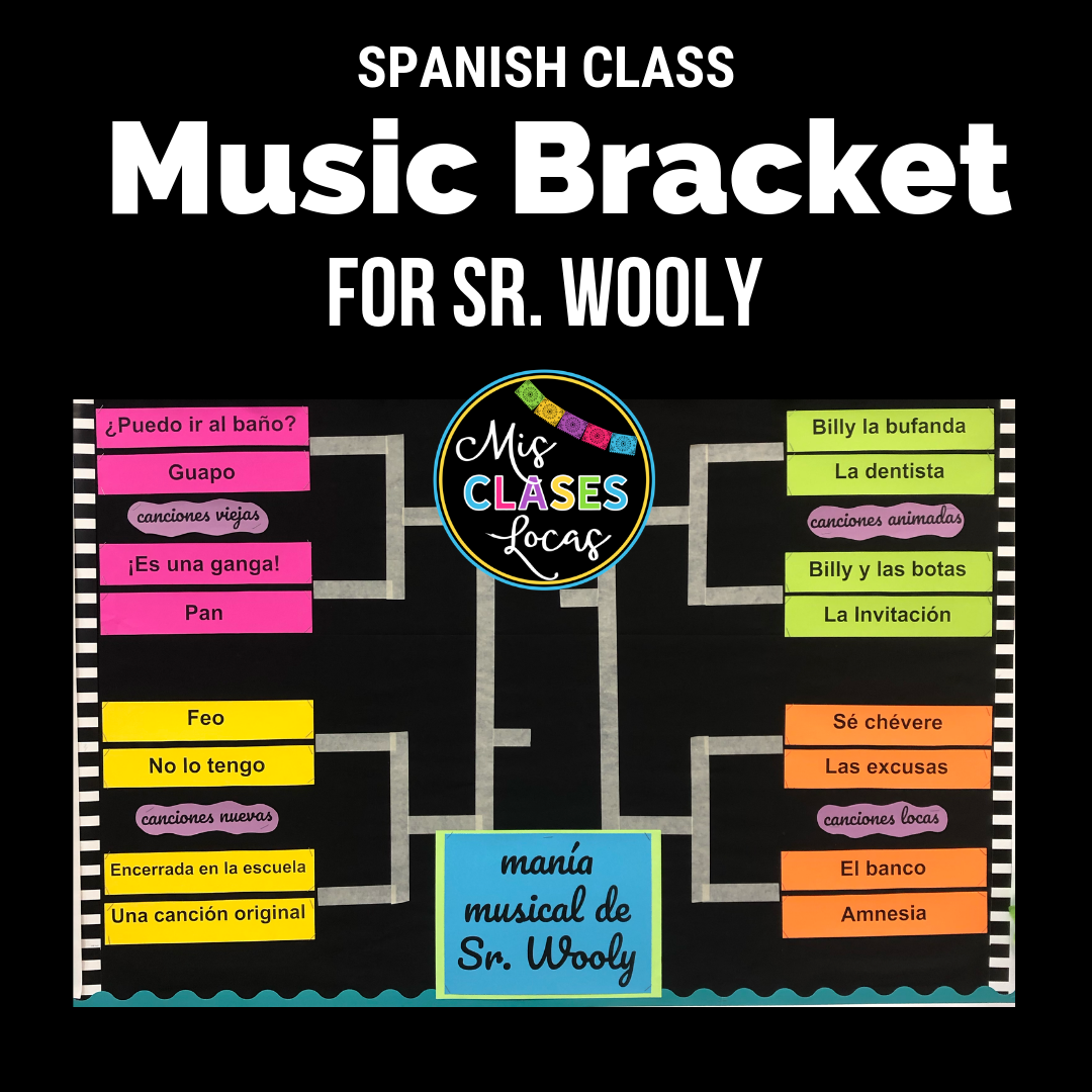 Music Bracket - mania musical de Sr. Wooly - shared by Mis Clases Locas