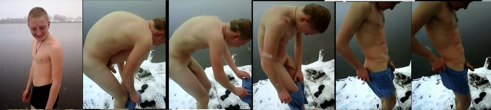 dipping nude twink