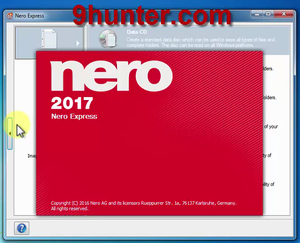 Nero 2017 Express & Burning Rom (Repack) โปรแกรมเขียนแผ่นดีวีดี