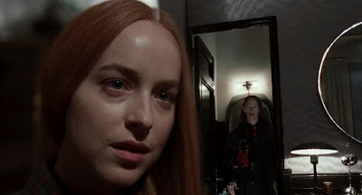 Suspiria 2018 movie still Dakota Johnson Tilda Swinton