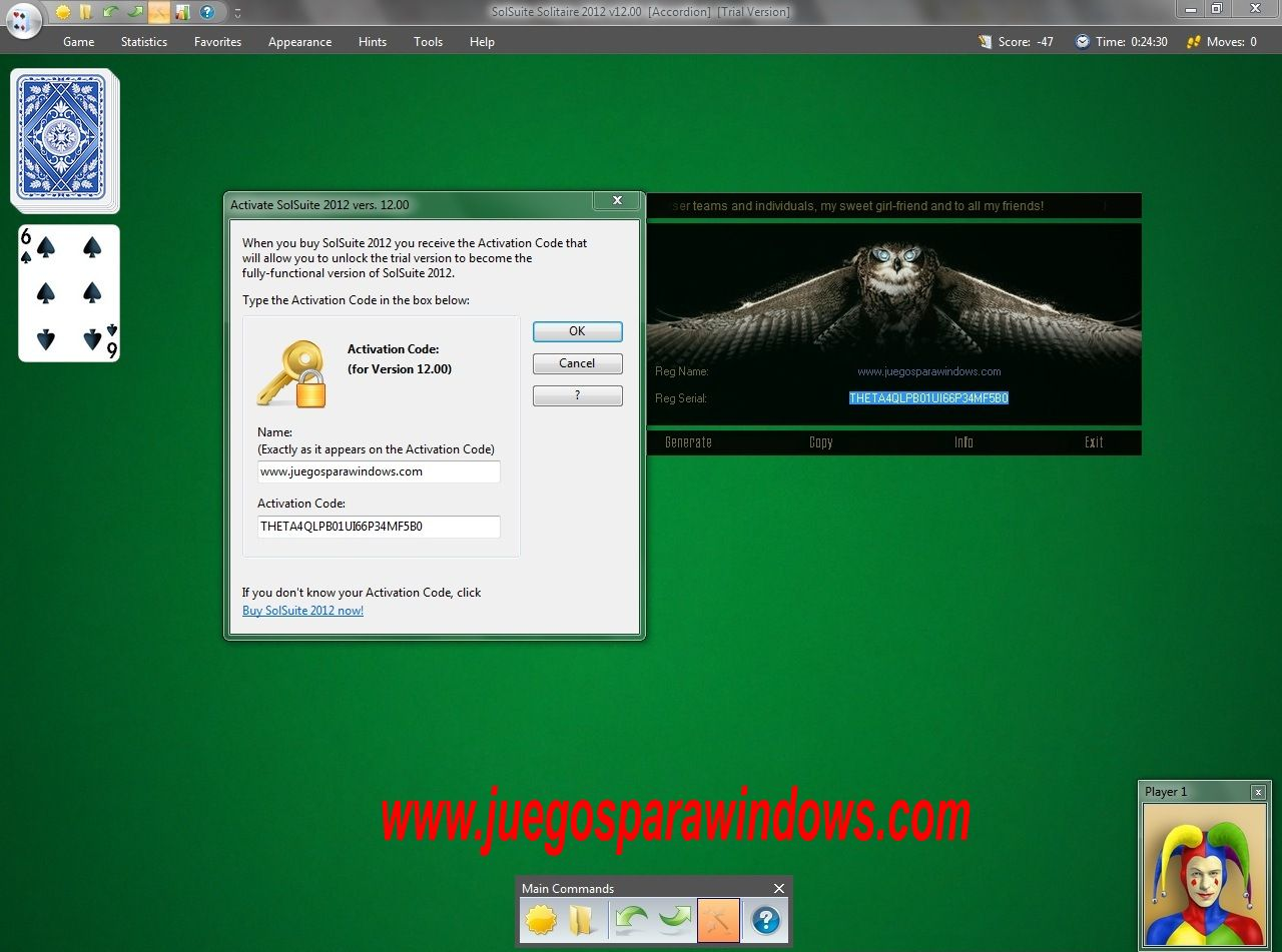 SolSuite Solitaire 2012 PC Screenshot