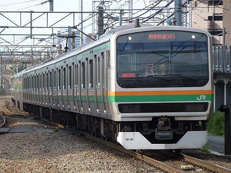 湘南新宿ライン 普通 大崎行き E231系(浦和駅高架化工事に伴う運行)