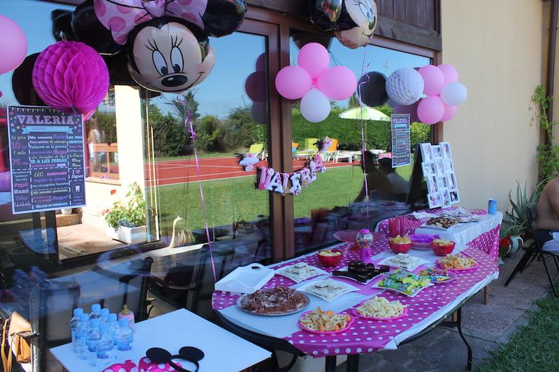 Fiesta Minnie Mouse Primer Cumpleaños Miss Curvy Style